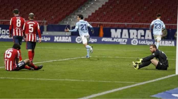 Latihan Kok Pakai Zoom, Gak Heran Lah Atletico Gagal Menang Lawan Celta Vigo Tadi Malam