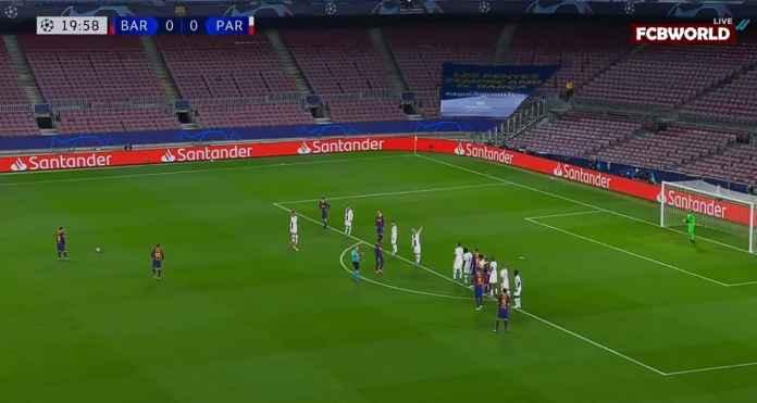Apakah Frenkie de Jong Tersandung Kakinya Sendiri? Barcelona Unggul Satu Gol Atas PSG