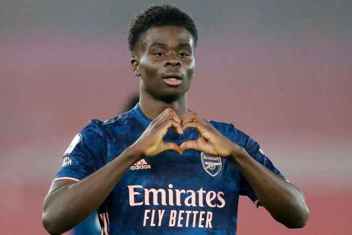 Bukayo Saka Dijamin Bakal Semakin Moncer di Arsenal