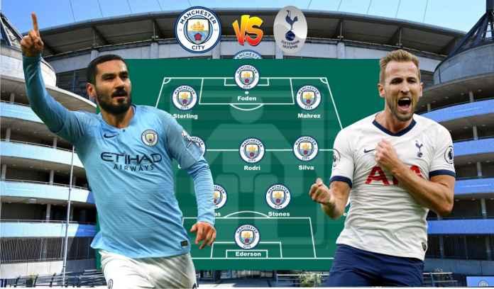 Prediksi Formasi Manchester City vs Tottenham, Rodri & Ruben Dias Siap Kembali!