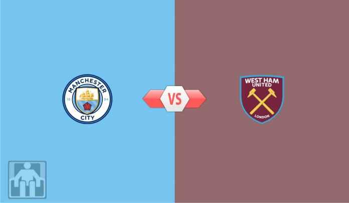 Prediksi Manchester City vs West Ham, The Hammers Jadi Korban Ke-20 Citizens?