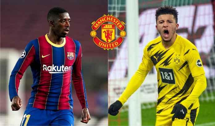 Manchester United Berencana Borong Sancho & Dembele Sekaligus, Memang Bisa?