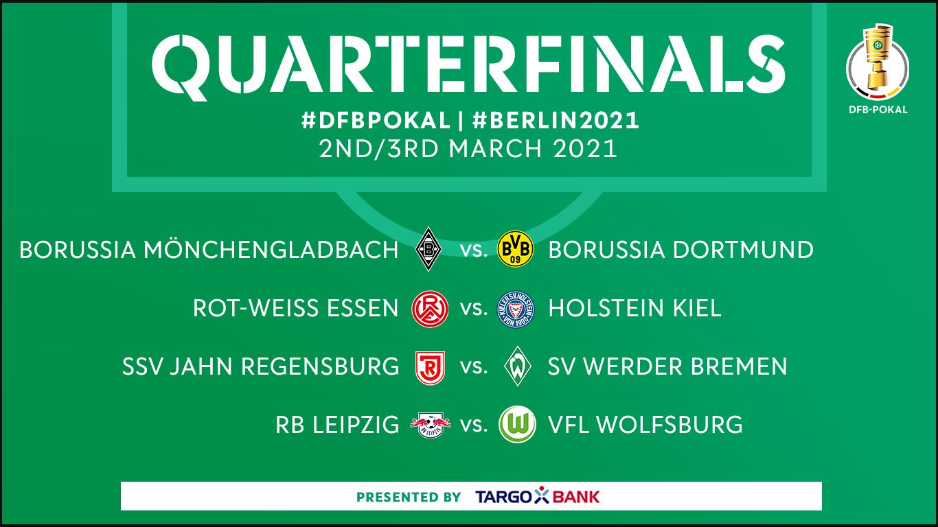 Perempat final DFB Pokal Jerman