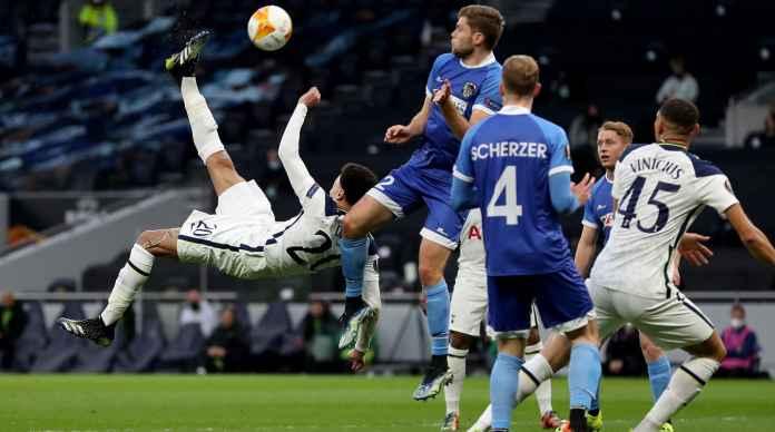 Dele Alli Cetak Gol Salto Dalam Kemenangan 4-0 Tottenham di Liga Europa Tadi Malam