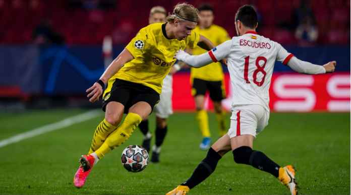 Hasil Liga Champions: Borussia Dortmund Hajar Juara Liga Europa Sevilla Dengan 3 Gol, Haaland Sumbangkan Dua