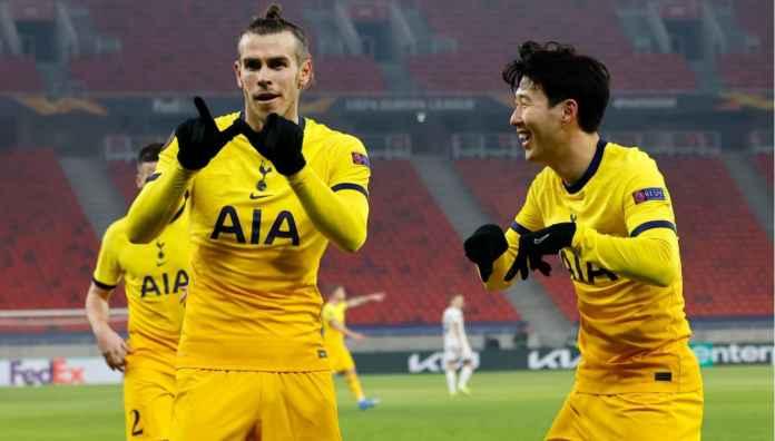 Hasil Liga Europa: Gareth Bale Cetak Satu Gol, Tottenham Menang Atas Wolfsberger