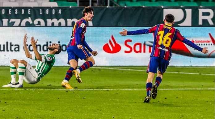 Curi Bola Dari Messi Jadi Kunci Kemenangan Barcelona di Real Betis Tadi Malam