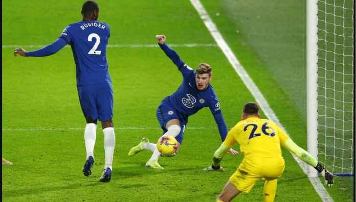 Hasil Liga Inggris Tadi Malam: Timo Werner Cetak Gol Lagi Bagi Chelsea Setelah 14 Pertandingan dan 100 Hari!