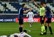Hasil Atalanta vs Real Madrid di Liga Champions - Kartu Merah Remo Freuler