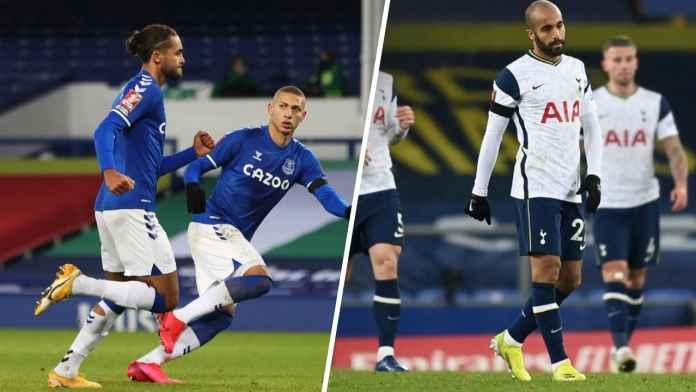 Hasil Everton vs Tottenham Hotspur - Hasil Piala FA - Skor Akhir FA Cup