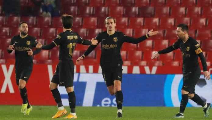 Hasil Granada vs Barcelona di babak perempat final Copa Del Rey skor akhir 3-5