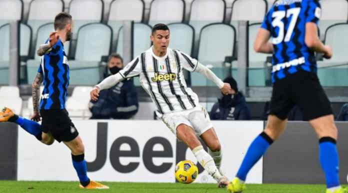 Hasil Semi FInal Coppa Italia - Juventus vs Inter Milan - Cristiano Ronaldo