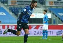 Hasil Semifinal Coppa Italia - Hasil Atalanta vs Napoli - Matteo Pessina