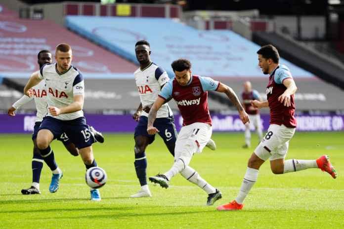 Hasil West Ham United vs Tottenham Hotspur, Gol Jesse Lingard Ancam Posisi MU