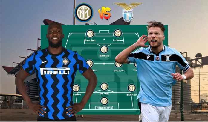 Prediksi Formasi Inter Milan vs Lazio, Ayo Manfaatkan Terpelesetnya Juve & Milan!