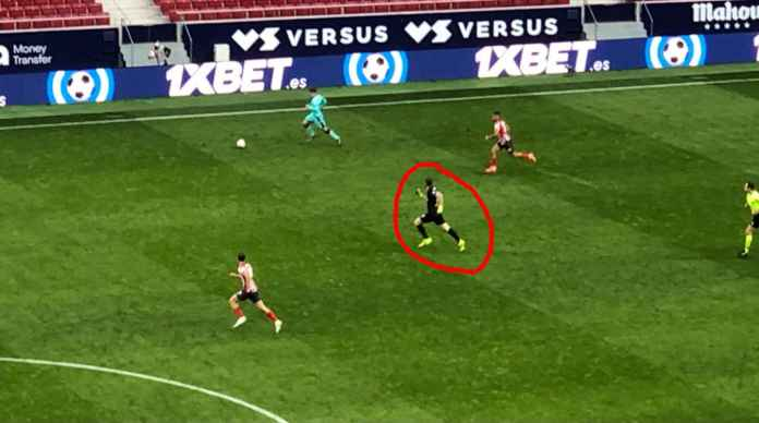 Adegan Tragis Liga Spanyol Tadi Malam, Kiper Atletico Ikut Maju, Lalu Terbirit-birit Saat Serangan Balik