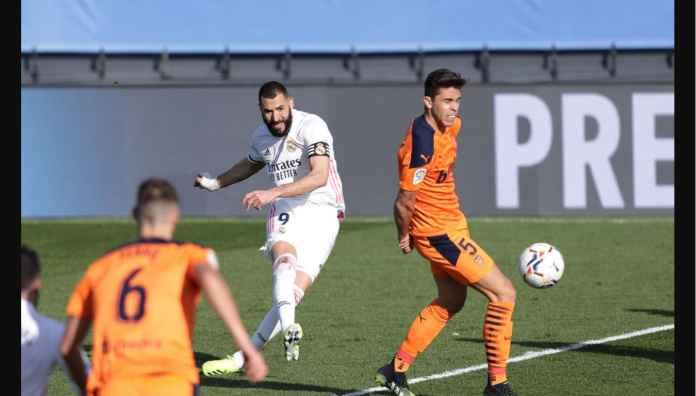 Hasil Liga Spanyol Tadi Malam: Dua Gol Pemain Tua Real Madrid Balaskan Dendam Atas Valencia