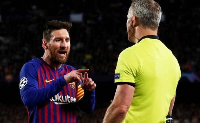 Wasit Musuh Messi Ini akan Kawal Barcelona Kontra PSG