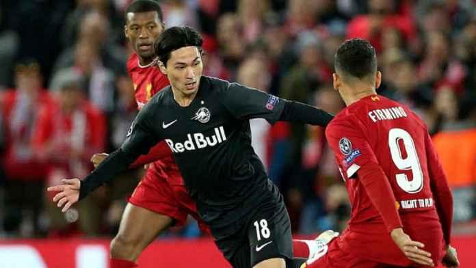 Liverpool Mainkan Skenario Terbaik dalam Transfer Minamino ke Southampton