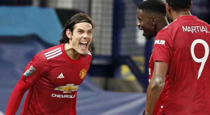 Manchester United Isyaratkan Perpanjang Kontrak Edinson Cavani