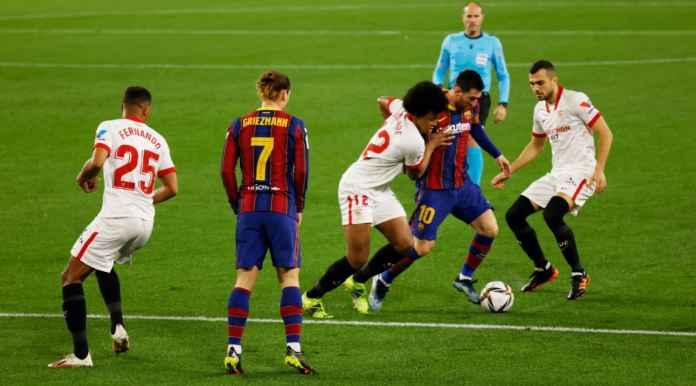 Hasil Copa del Rey: Barcelona Kalah Dari Sevilla, Sudah Kebobolan Tiga Gol Gara-gara Pemain yang Sama