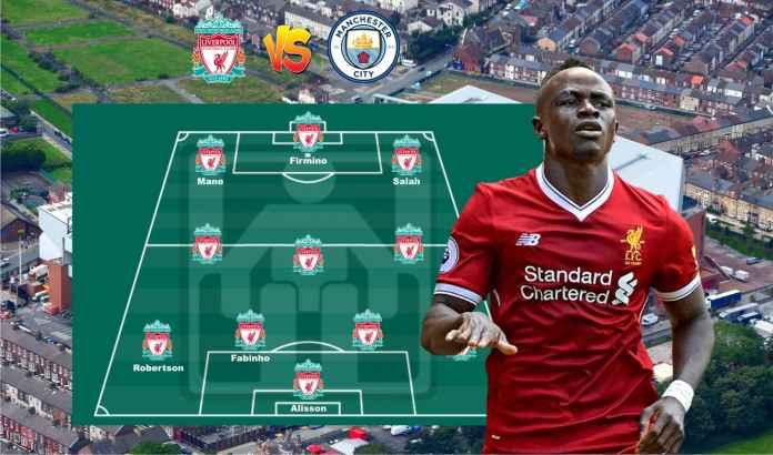 Prediksi Formasi Liverpool vs Manchester City, Fabinho & Sadio Mane Comeback!