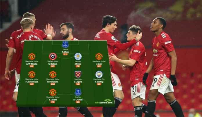 Lima Pemain Man Utd & Jesse Lingard Masuk Tim Terbaik Liga Inggris Pekan Ini!