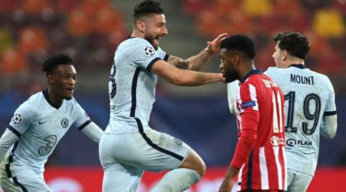 Olivier Giroud, Pemain Tua Chelsea Sudah Bobol Gawang Atletico dan Sevilla Musim Ini