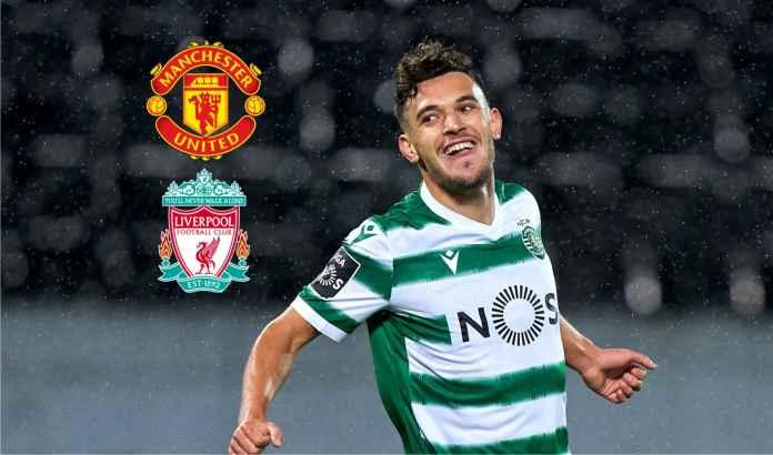 Man Utd & Liverpool Bersaing Dapatkan Titisan Bruno Fernandes Milik Sporting