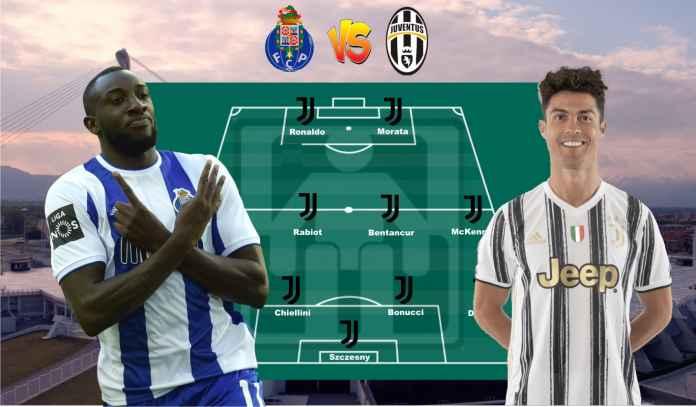 Prediksi Formasi Juventus vs Porto, Jangan Terlalu Bergantung Pada Cristiano Ronaldo