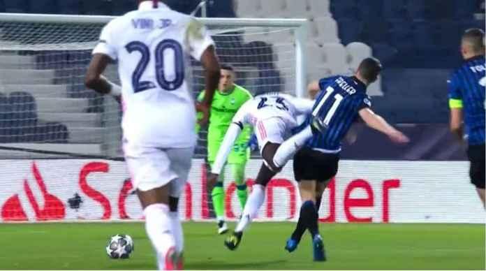Real Madrid Bertanding Lawan 10 Pemain Atalanta Setelah Pelanggaran Ini