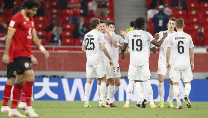 Robert Lewandowski Buka Skor Bayern Munchen Atas Al Ahly