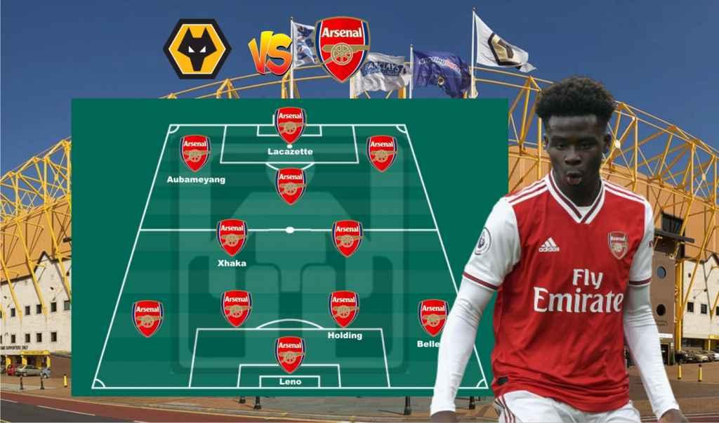 Prediksi Formasi Arsenal vs Wolves, Aubameyang & Saka ...