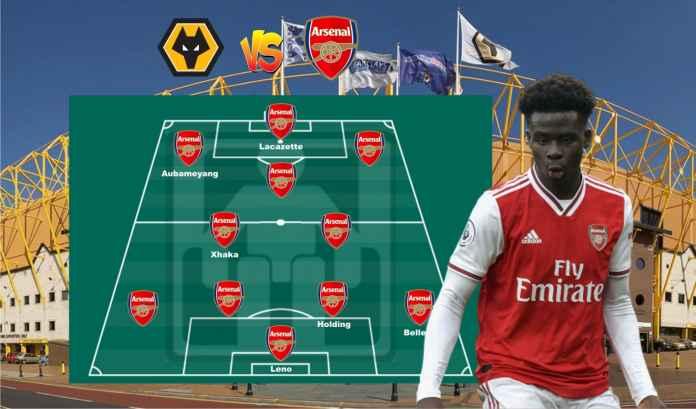 Prediksi Formasi Arsenal vs Wolves, Aubameyang & Saka Sudah Kembali, Tierney Absen