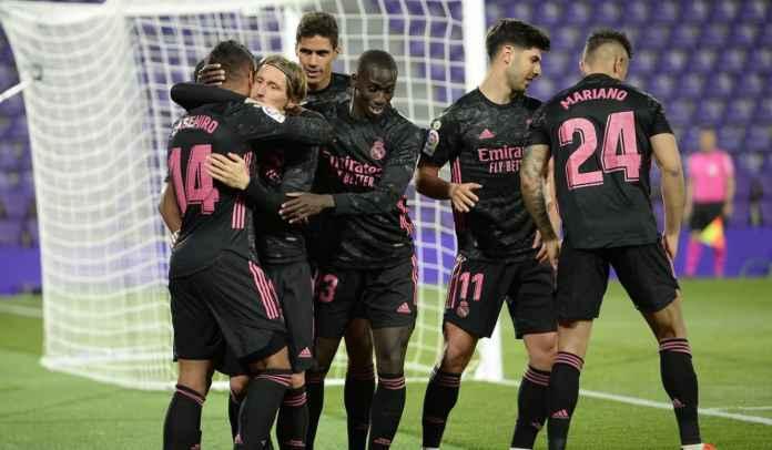 Rapor Pemain Real Madrid 1-0 Valladolid, Casemiro Pahlawan, Courtois Penyelamat!