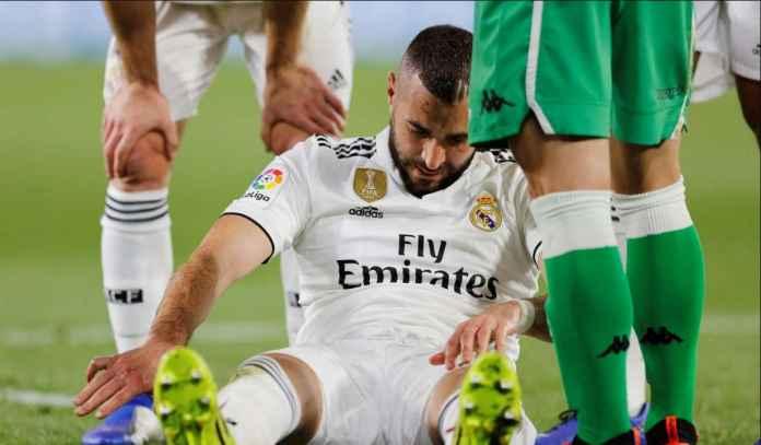 Jelang Atalanta vs Real Madrid : Zidane Tak Mau Ambil Risiko Pada Cedera Benzema