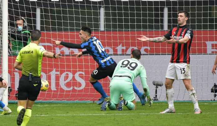 Rapor Pemain AC Milan 0-3 Inter Milan, Duet Martinez-Lukaku Makin Mengerikkan!