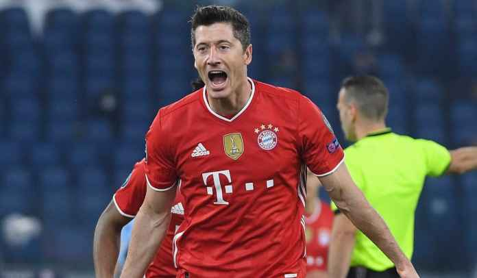 Satu Gol Tadi Malam, Lewandowski Lewati Rekor Raul, Top Skor Ketiga Liga Champions