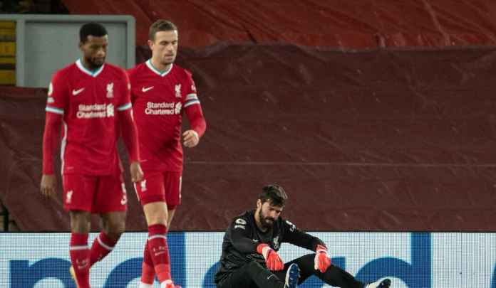 Rapor Pemain Liverpool 1-4 City, Alisson Bak Karius, Trent & Robo Bobrok Parah!