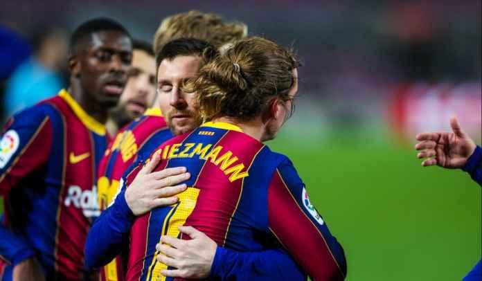 Cetak Gol Kemenangan Barcelona, Antoine Griezmann Malah Puji Lionel Messi