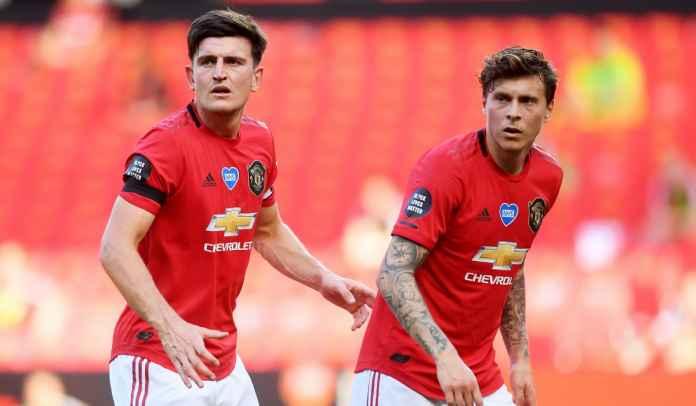 Legenda Man Utd Sebut Maguire & Lindelof Nggak Cocok Jadi Pasangan Bek Tengah