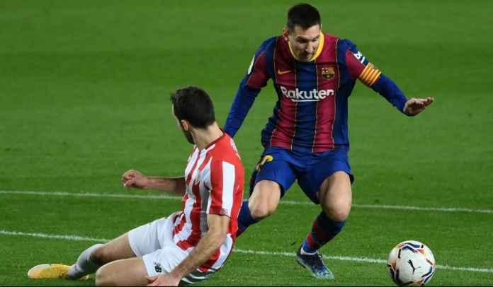 Javier Tebas Sebut Barcelona Bangkrut Bukan Karena Gaji Raksasa Lionel Messi