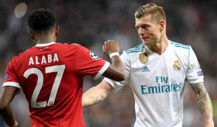 Toni Kroos Yakin David Alaba Punya Kualitas, Bisa Jadi Pemain Top di Real Madrid
