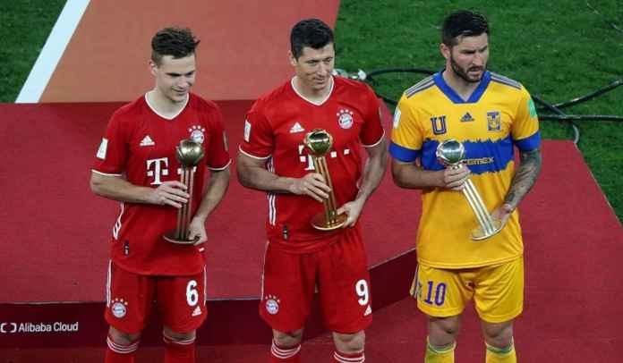 Lewandowski Menangi Pemain Terbaik Piala Dunia Antarklub, Kecewa Muller Absen