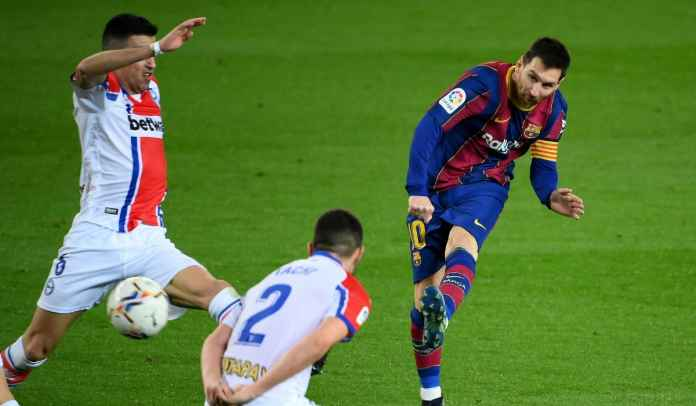 Lionel Messi Tadi Malam : Samai Rekor Xavi, Kejar Suarez Dalam Perburuan Top Skor
