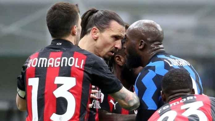 Kekalahan AC Milan Tadi Malam Jadi Peluang Manis Romelu Lukaku Melukai Zlatan Ibrahimovic