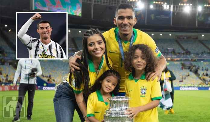 Allan : Anak Saya Idolakan Cristiano Ronaldo, Tapi Haram Pakai Jersey Juventus!