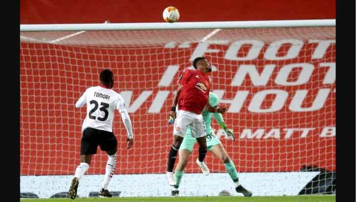 Amad Diallo, Man United vs AC Milan