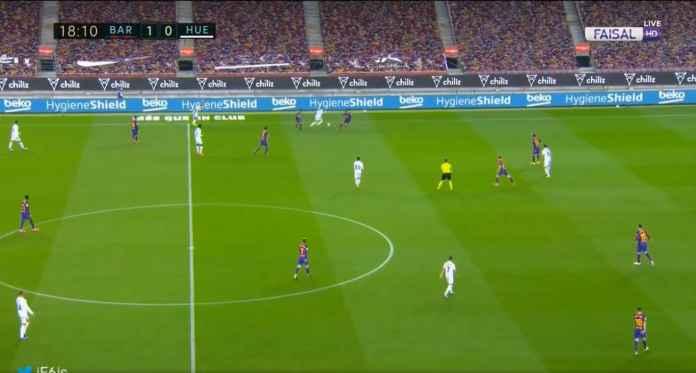 Barcelona vs Huesca, Liga Spanyol