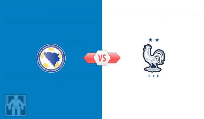 Prediksi Bosnia-Herzegovina vs Prancis Kualifikasi Piala Dunia 2022 Zona Eropa Grup D